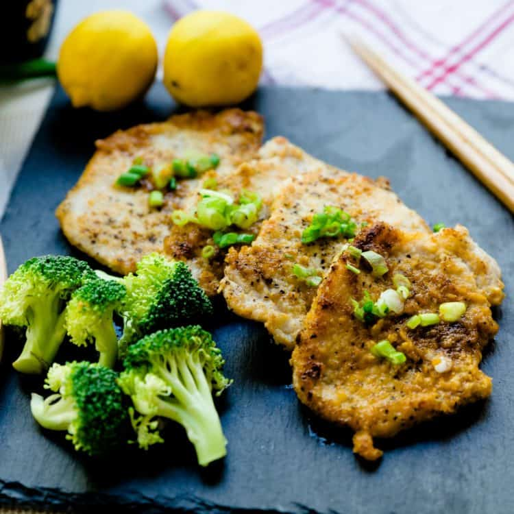 keto Asian Garlic Pork Chops cover