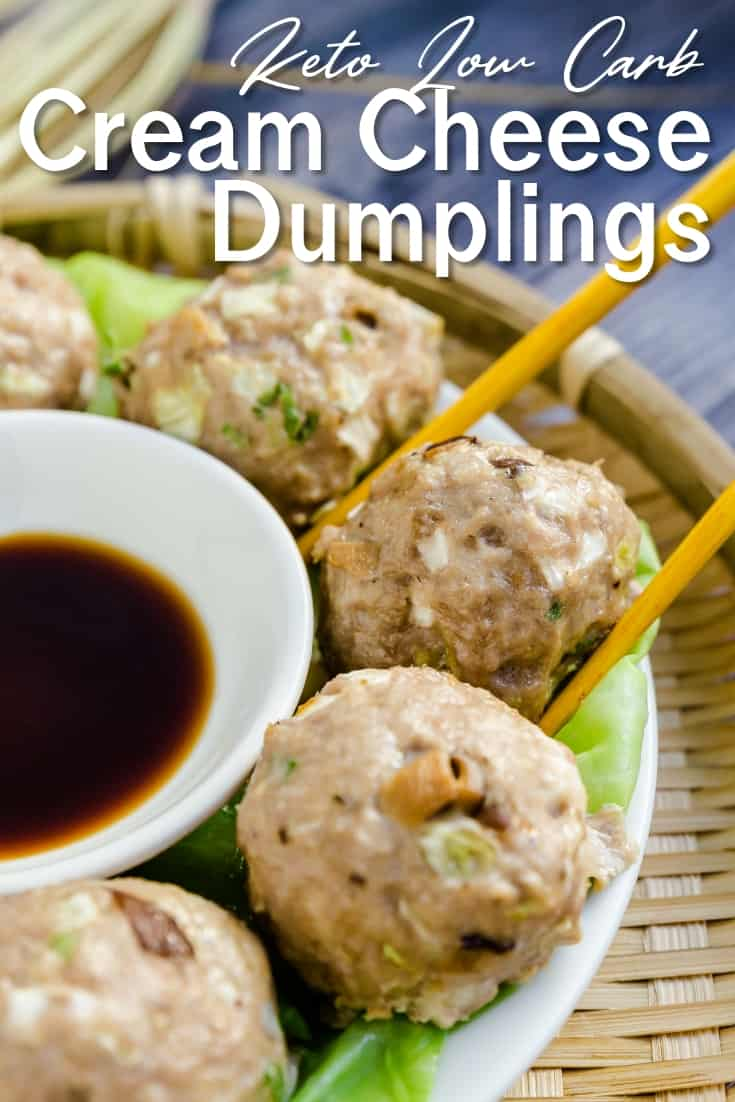 Cream Cheese Japanese Dumplings