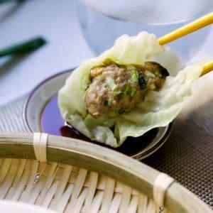 keto low carb Cream Cheese Skinless Dumplings cover