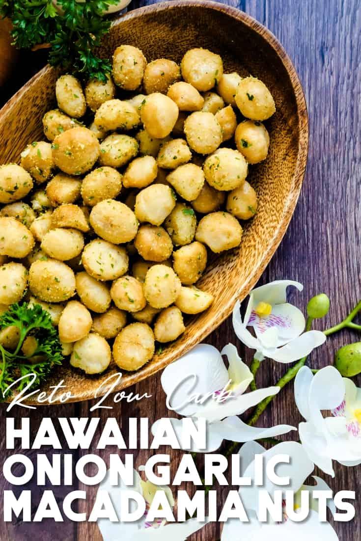 Hawaiian Onion Garlic Macadamia Pin 2
