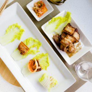 keto Kimchi Wrapped Miso Pork Belly cover