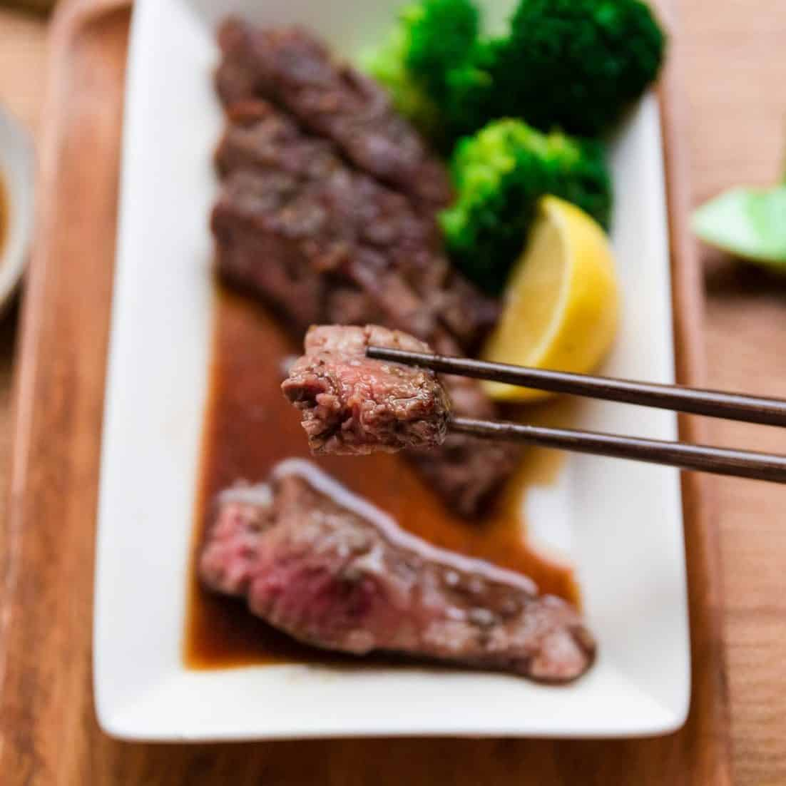 keto Soy Japanese Steak pic