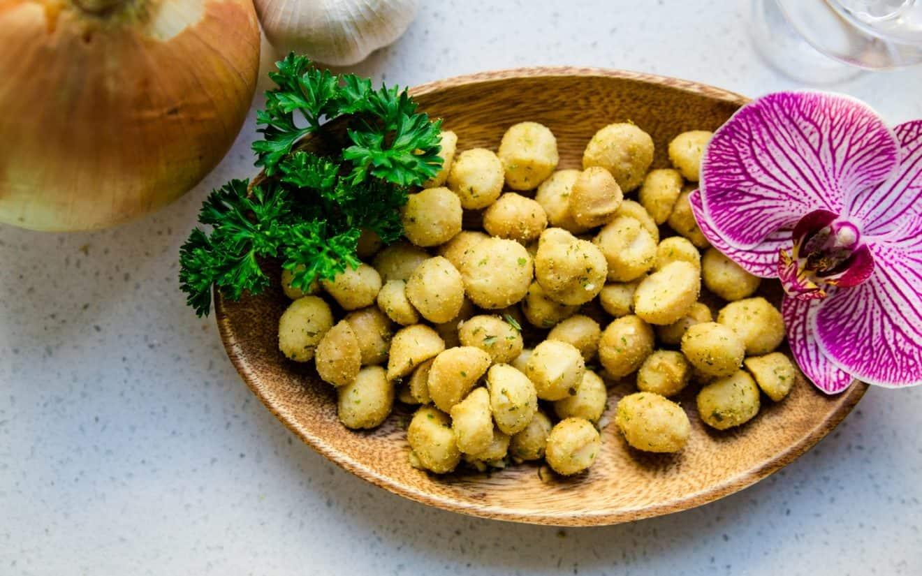 keto Onion Garlic Macadamia Nuts pic