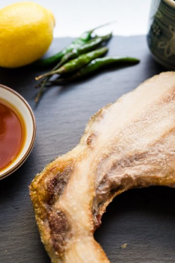 keto Ponzu Yuzu Yellowtail Collar cover