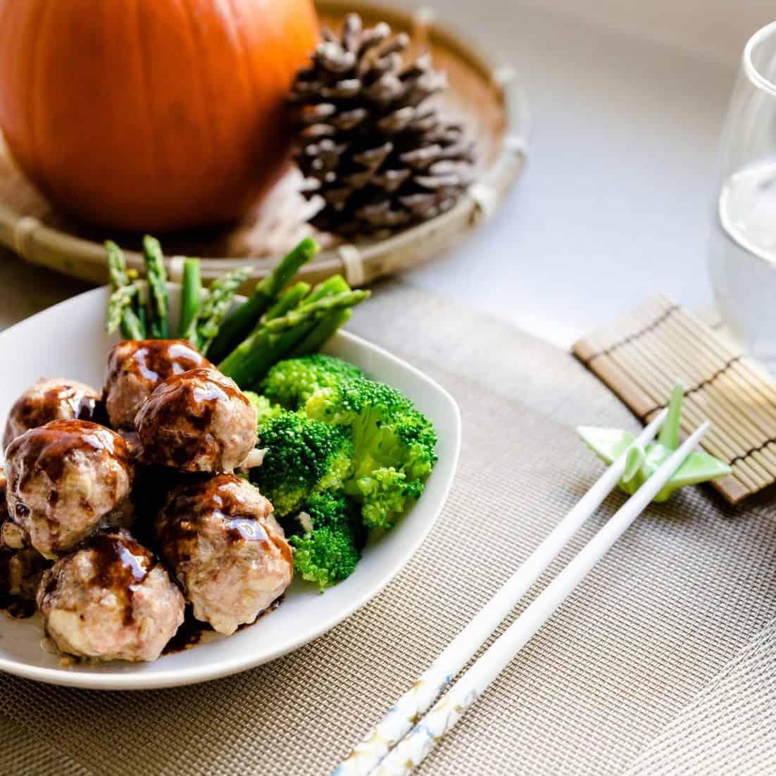 keto Asian Demi-Glace Meatballs pic