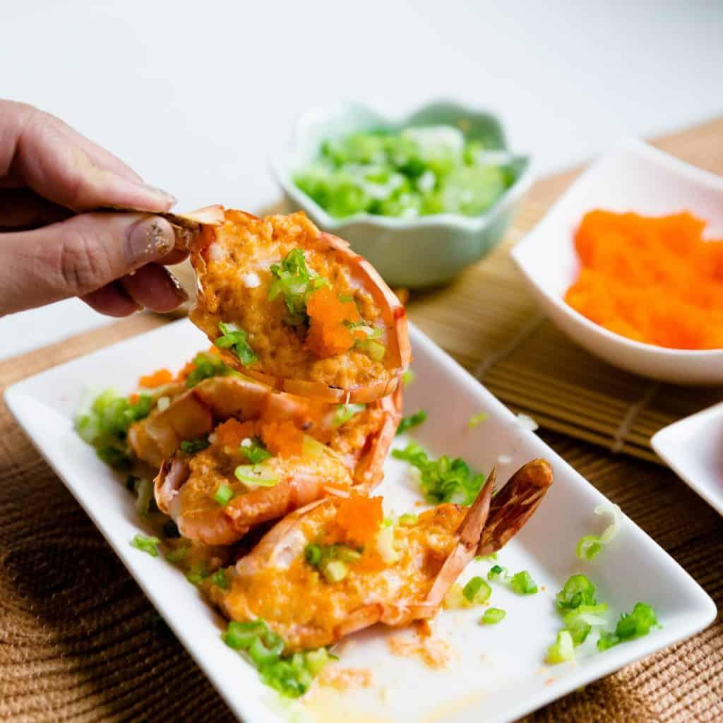 keto Dynamite Mayo Shrimp pic