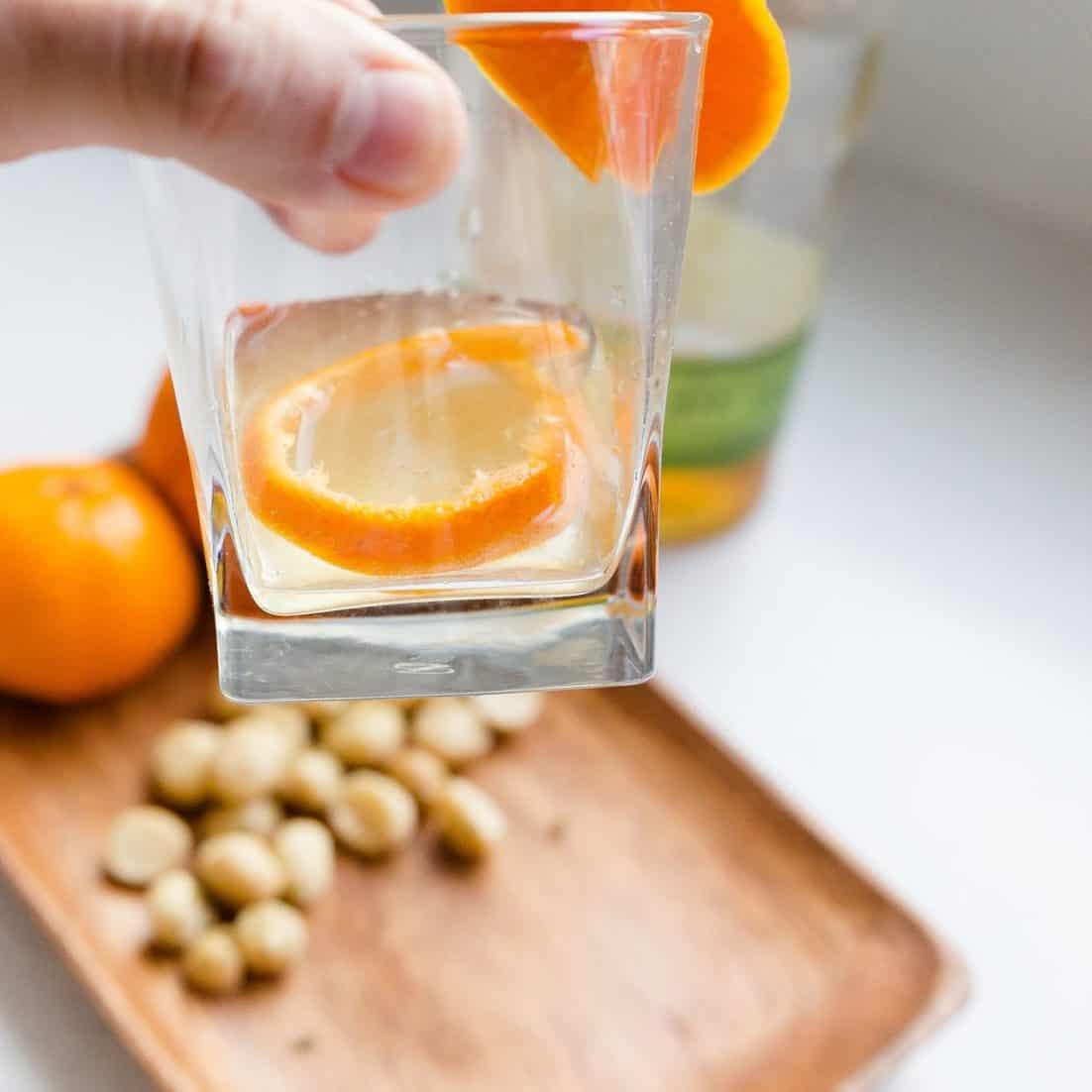 keto Orange Whiskey Soda pic