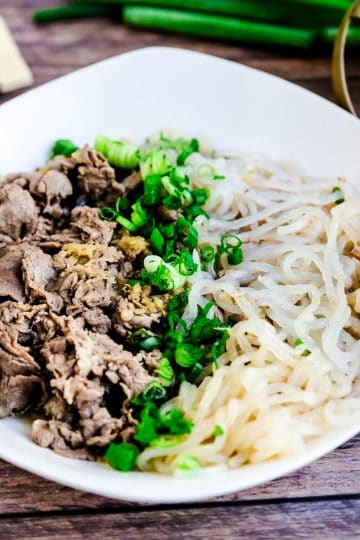 Japanese Beef Shirataki Noodle Soup LowCarbingAsian Cover