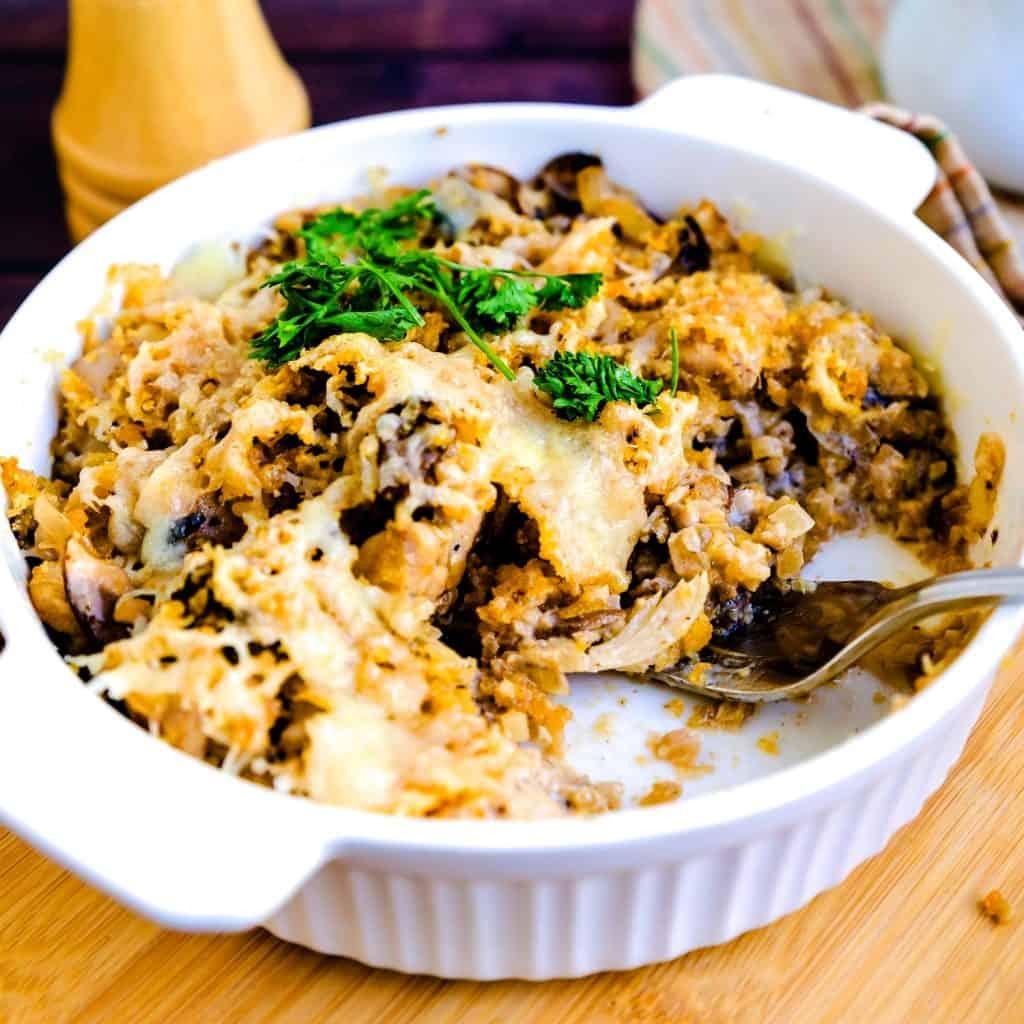 Japanese Chicken Gratin LowCarbingAsian Pic 2