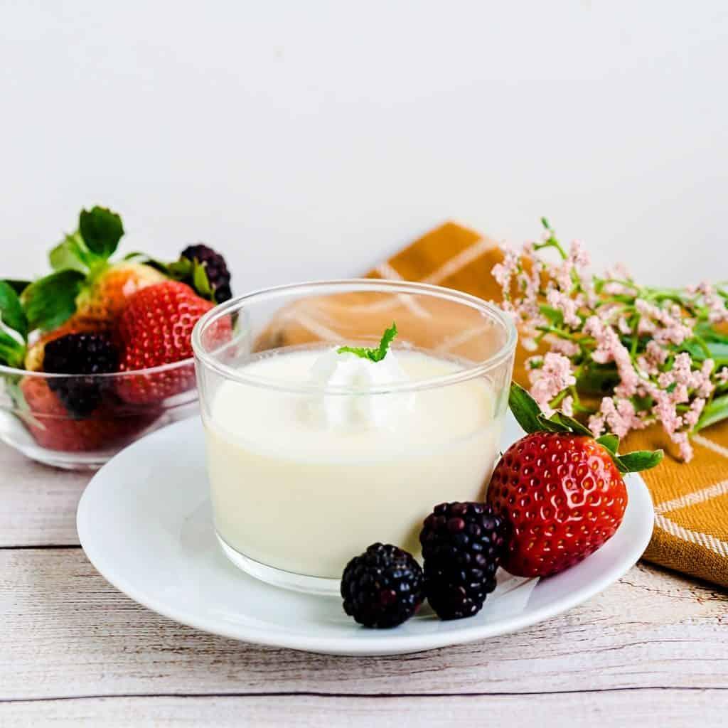 Japanese Custard Pudding LowCarbingAsian Pic 1