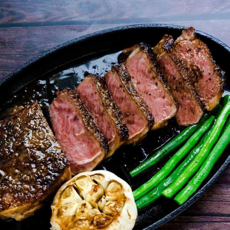 Japanese Style Garlic Steak LowCarbingAsian Cover