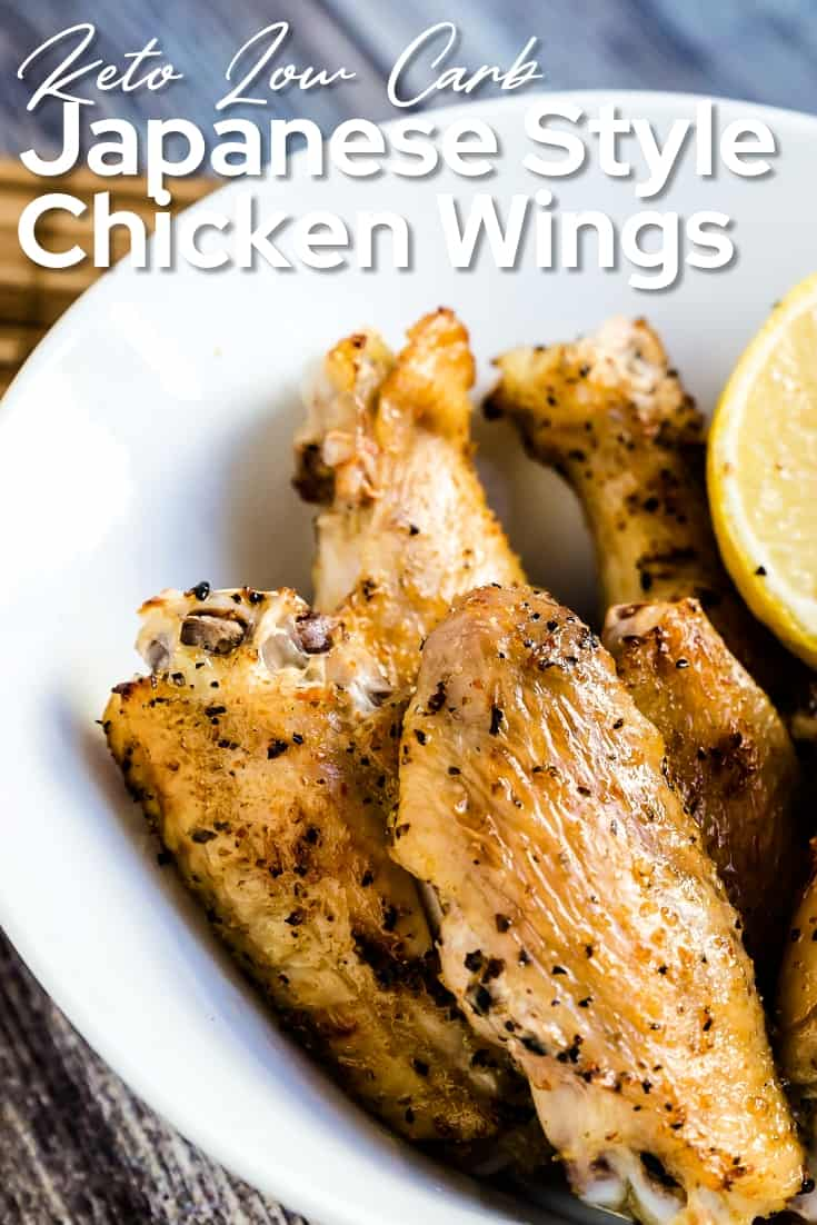 Japanese Style Salted Chicken Wings LowCarbingAsian Pin 1