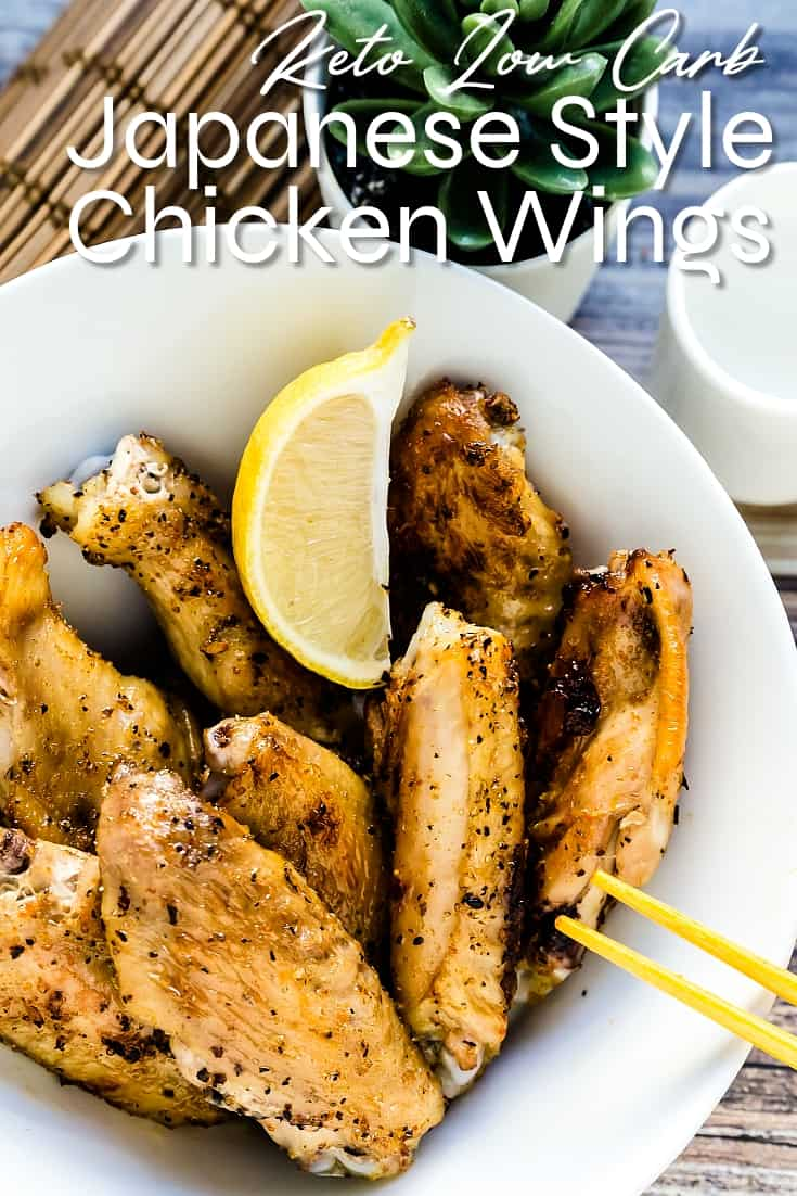 Japanese Style Salted Chicken Wings LowCarbingAsian Pin 2