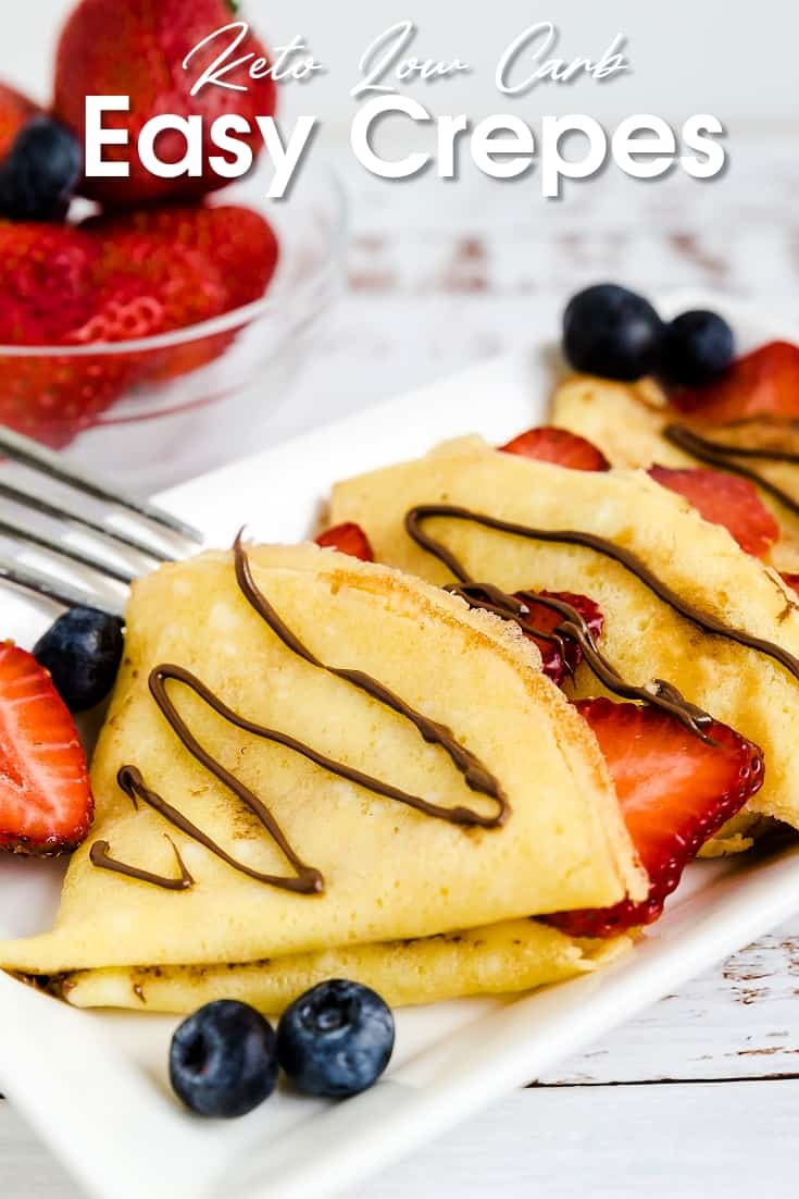 Keto Low Carb Crepes