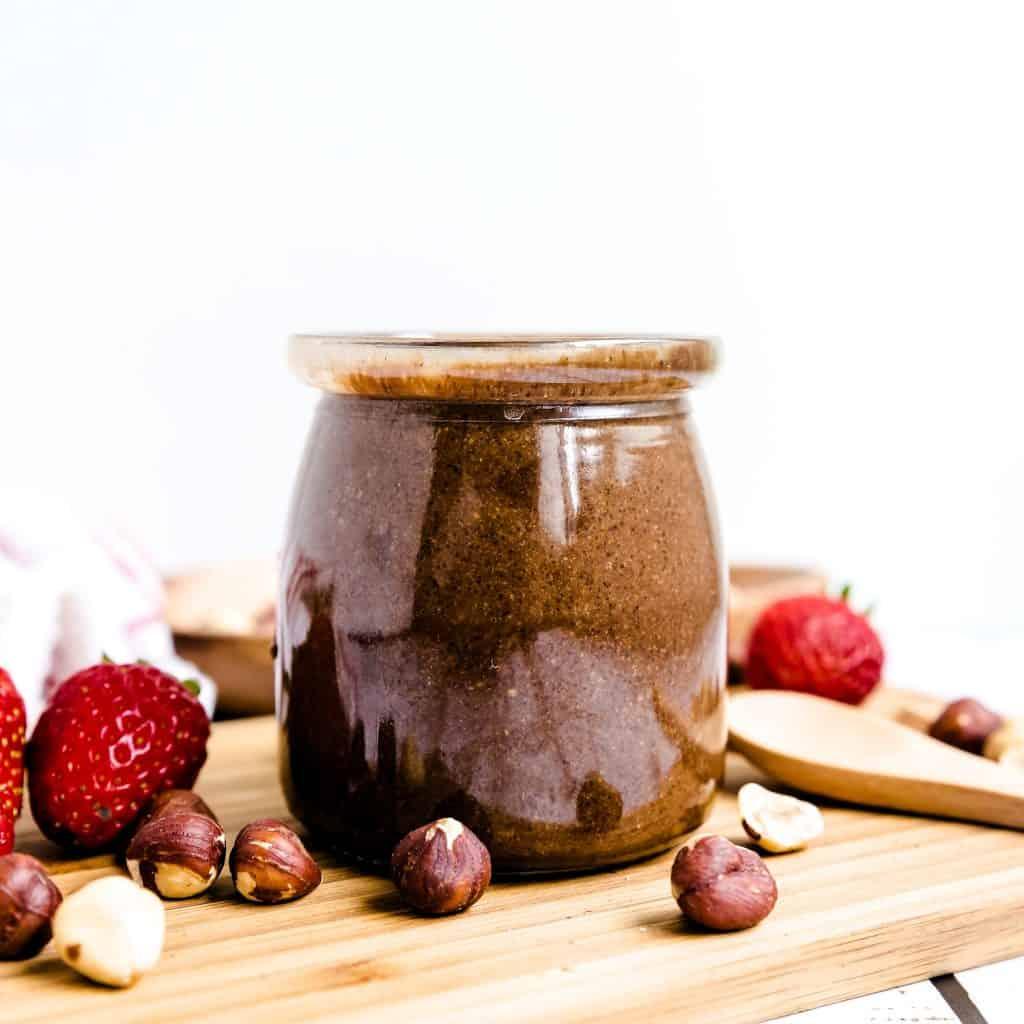 Nutella Hazelnut Chocolate LowCarbingAsian Pic 1