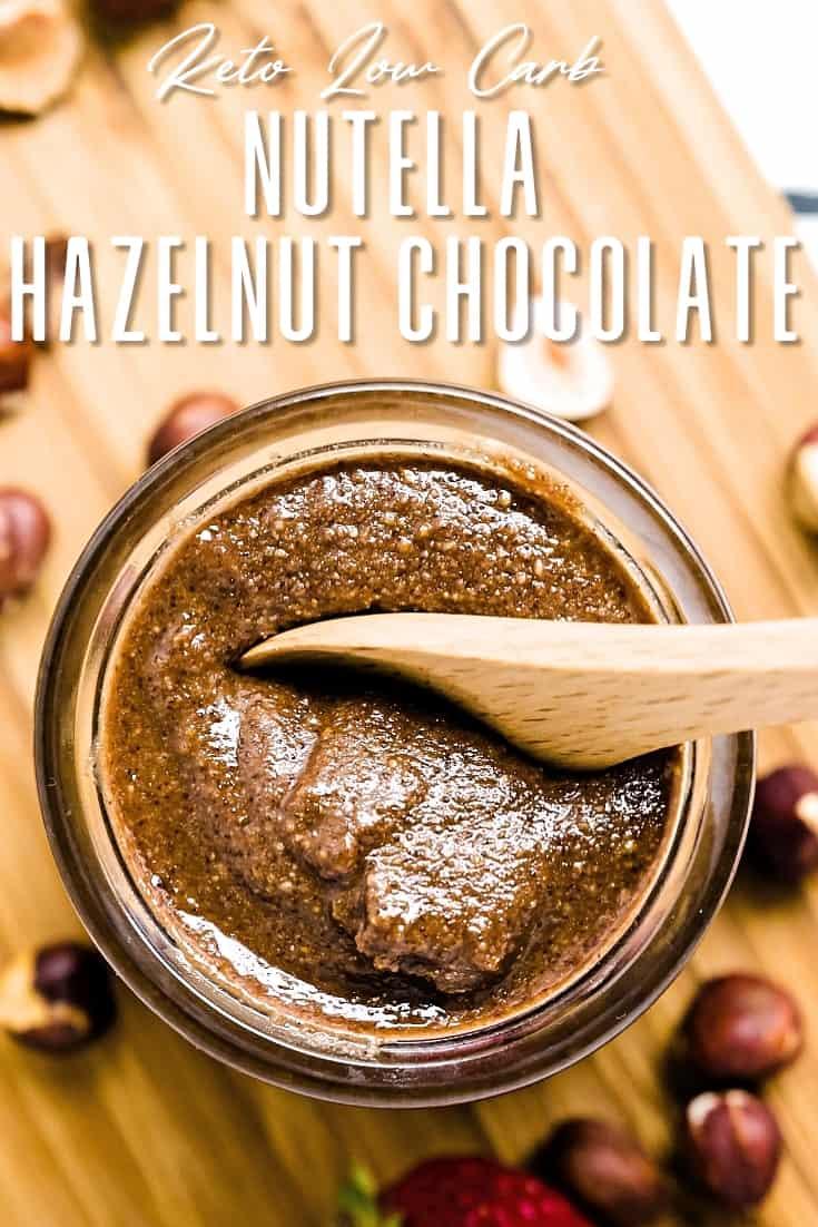 Nutella Hazelnut Chocolate LowCarbingAsian Pin 0