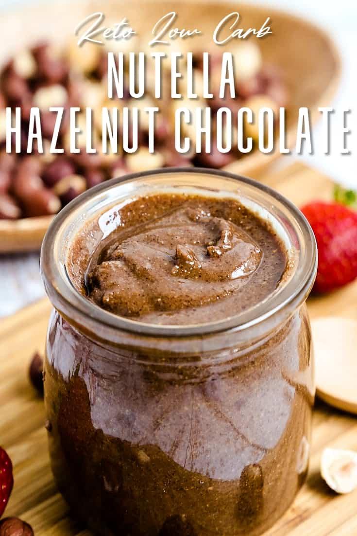Nutella Hazelnut Chocolate LowCarbingAsian Pin 2