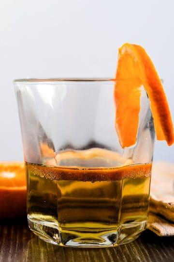 Orange Whiskey Soda LowCarbingAsian Cover