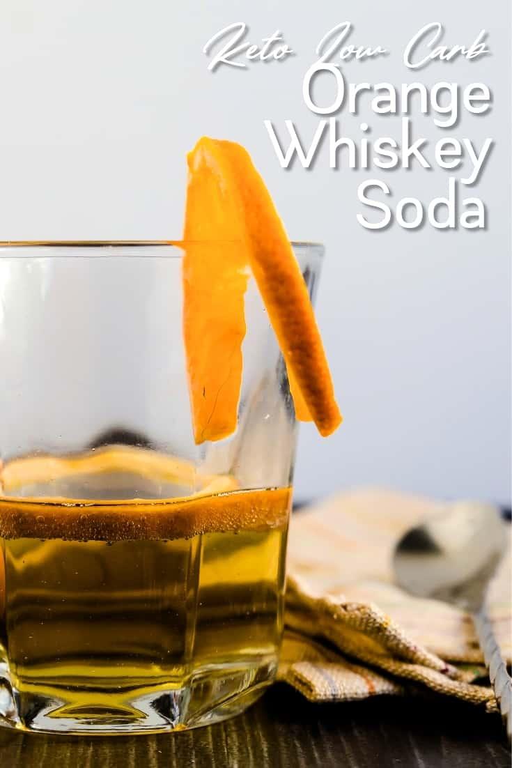 Orange Whiskey Soda LowCarbingAsian Pin 1