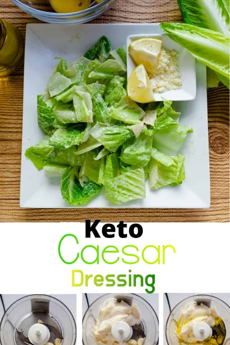 keto Caesar Salad Dressing pin 2