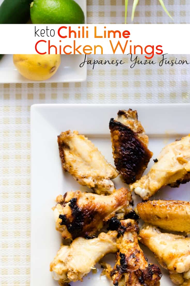 keto Chili Lime Yuzu Chicken Wing pin 1