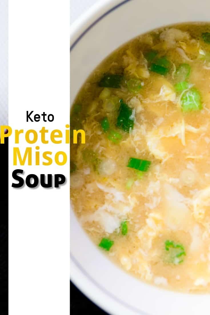 keto Protein Miso Soup pin 1