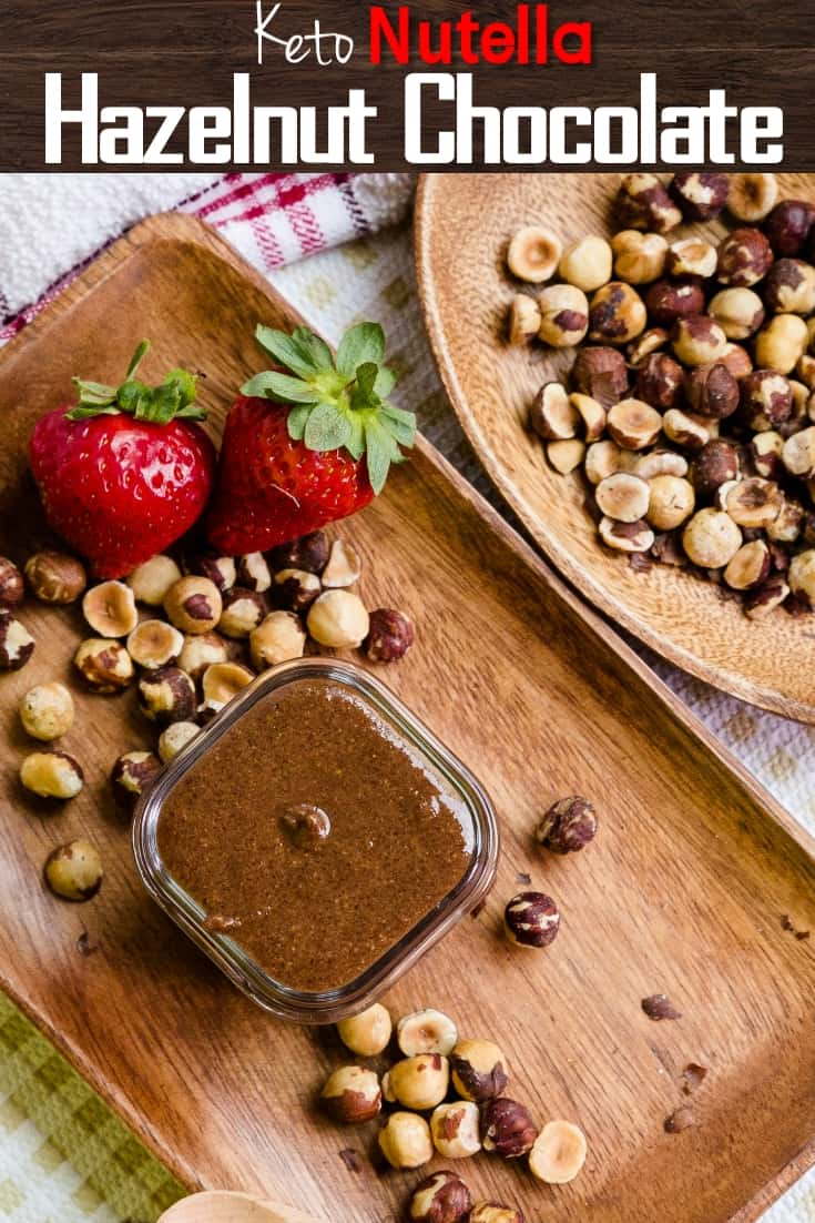 keto Nutella Hazelnut Chocolate pin 2