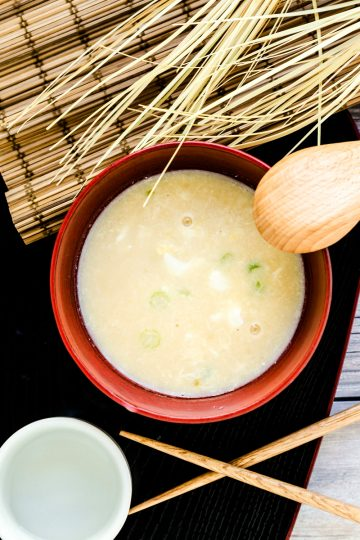 Protein Miso Soup LowCarbingAsian Cover