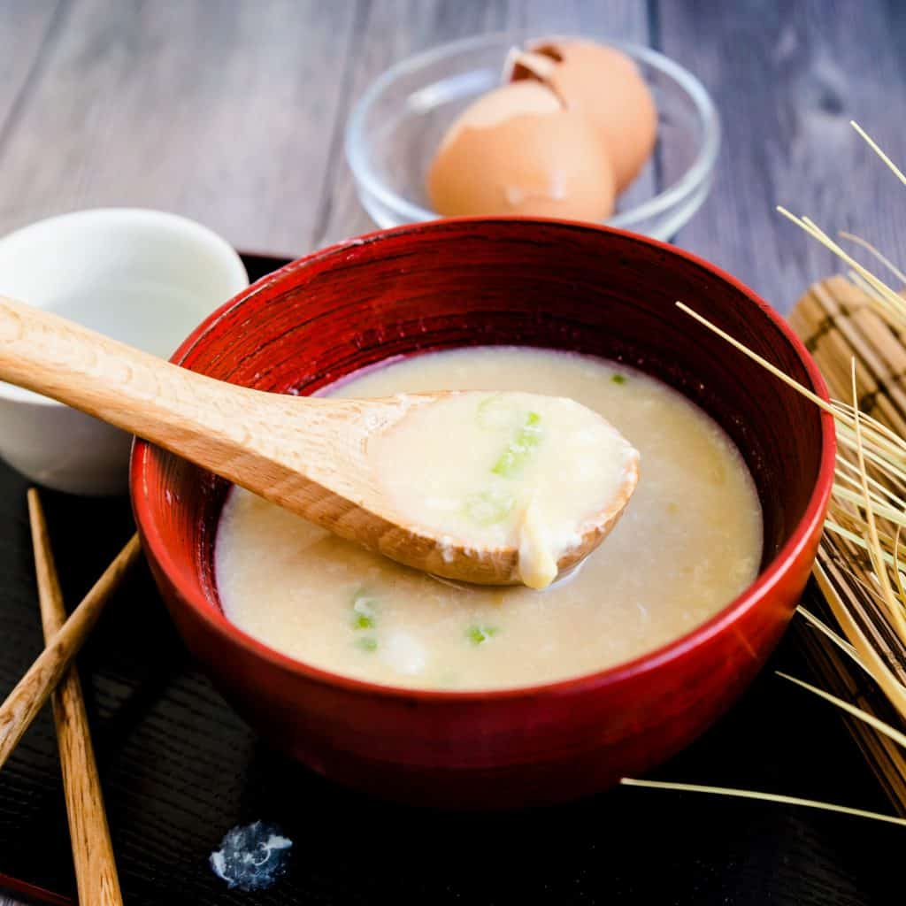 Protein Miso Soup LowCarbingAsian Pic 2