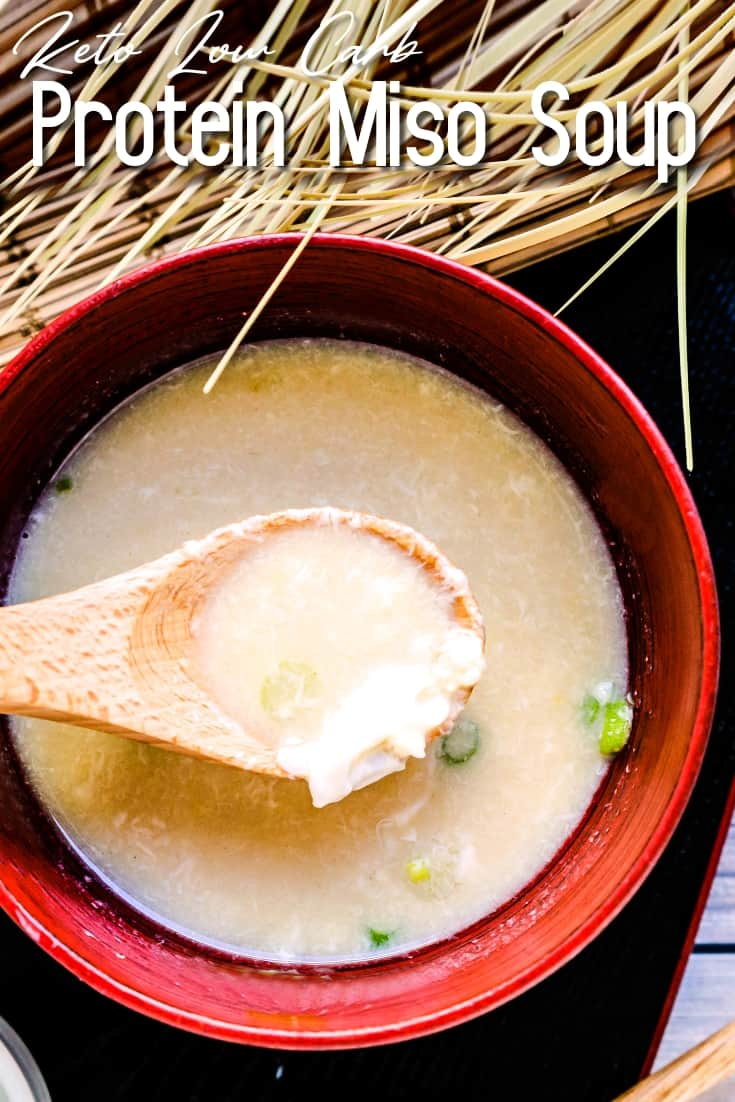 Protein Miso Soup LowCarbingAsian Pin 2