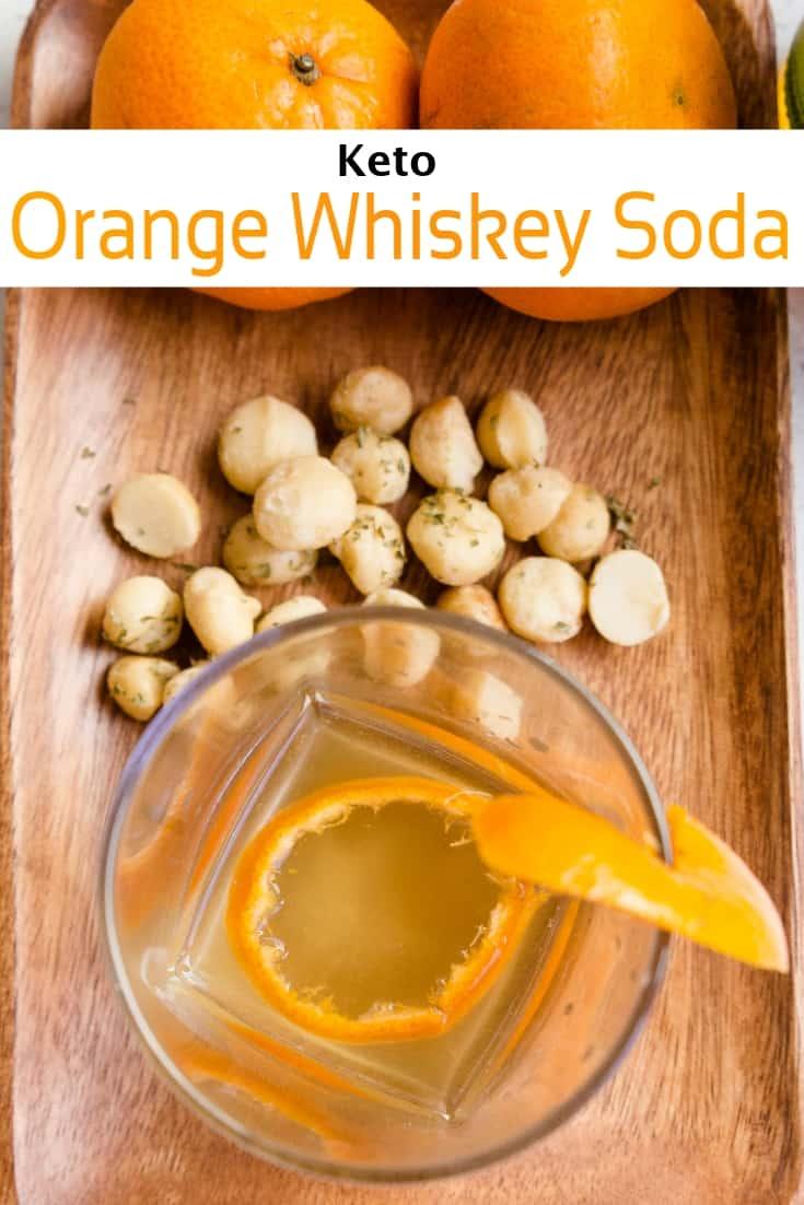 keto Orange Whiskey Soda pin 1