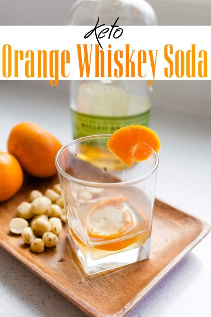 keto Orange Whiskey Soda pin 2