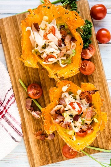 Bacon & Ham Cheddar Cups LowCarbingAsian Cover