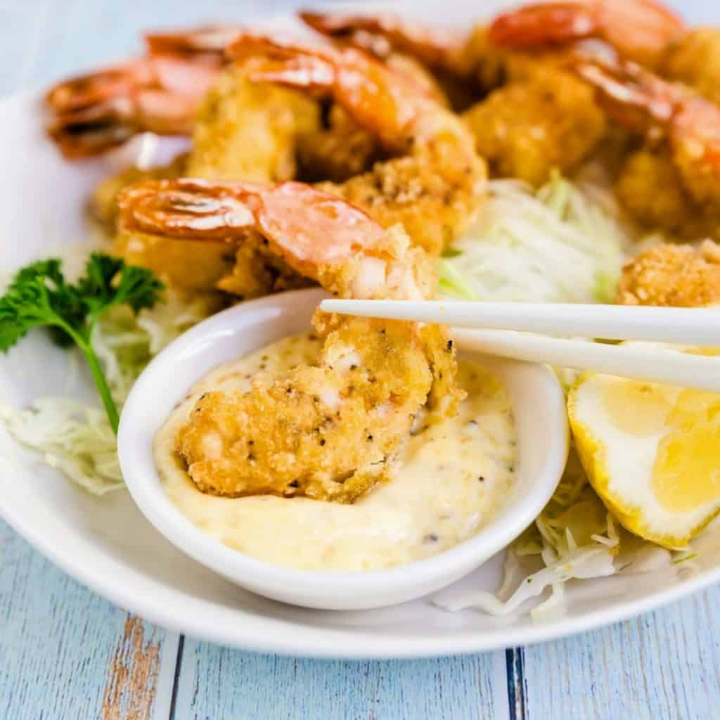 Ebi Fry Japanese Fried Shrimp LowCarbingAsian Pic 2