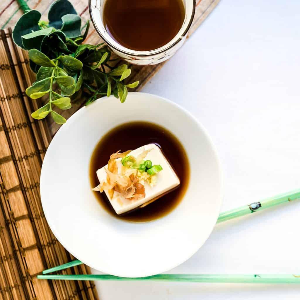 Hot Japanese Tofu - Yudofu LowCarbingAsian Pic 2