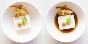 Hot Japanese Tofu - Yudofu Recipe (34)