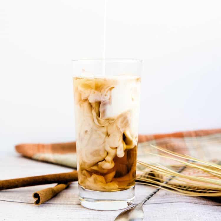 Iced Vanilla Chai Tea Latte LowCarbingAsian Cover 2