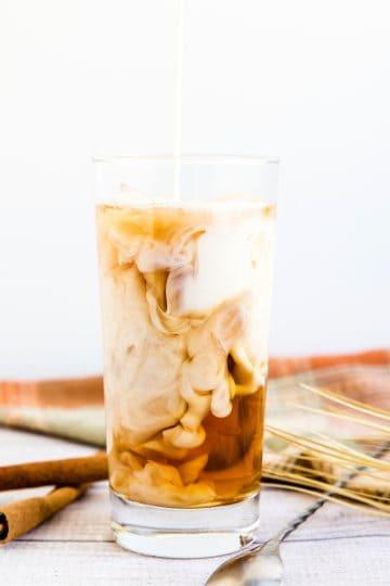 Iced Vanilla Chai Tea Latte LowCarbingAsian Cover