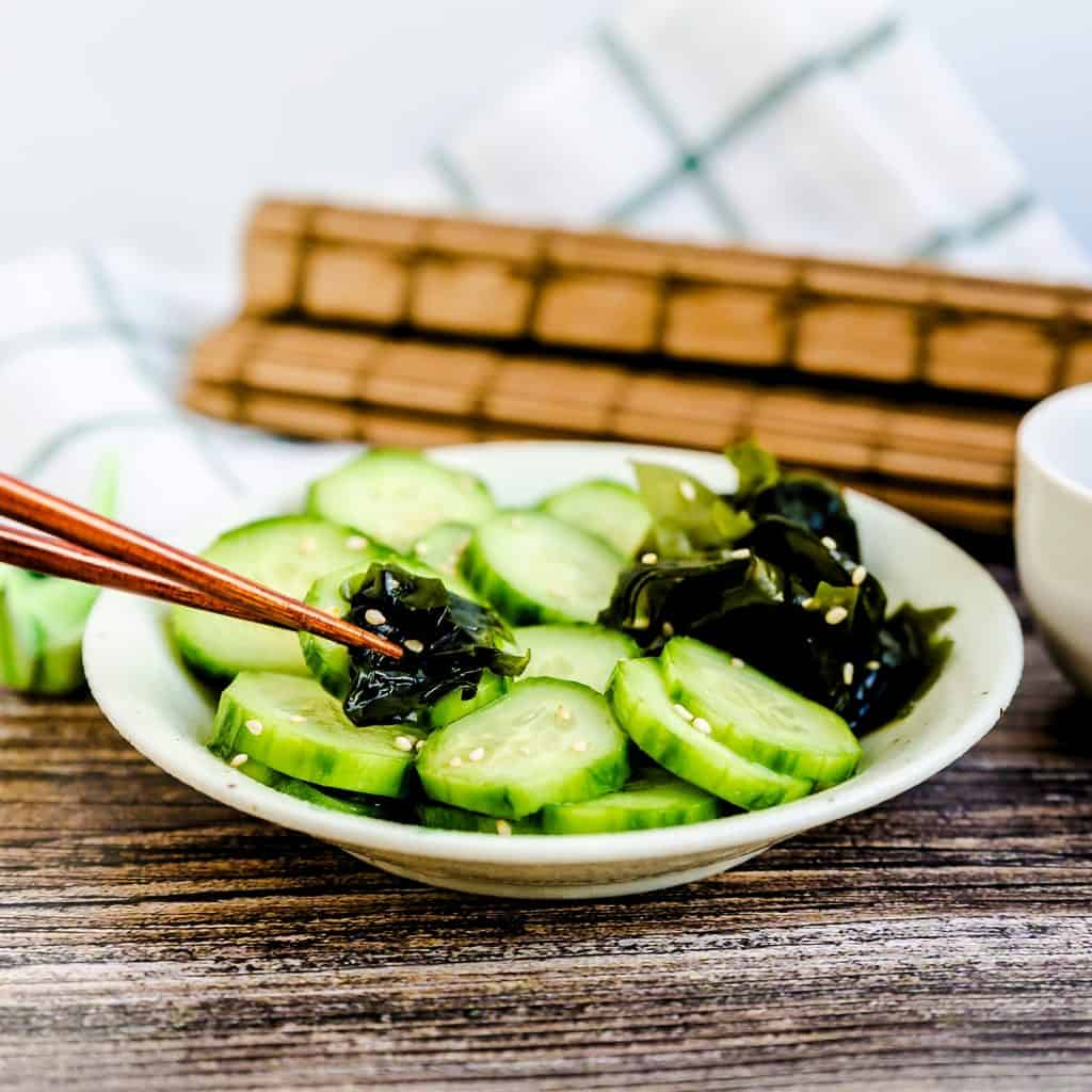 Japanese Cucumber Salad LowCarbingAsian Pic 2