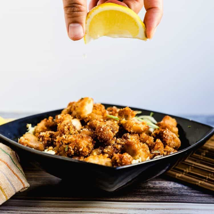 Japanese Fried Chicken Karaage LowCarbingAsian Cover