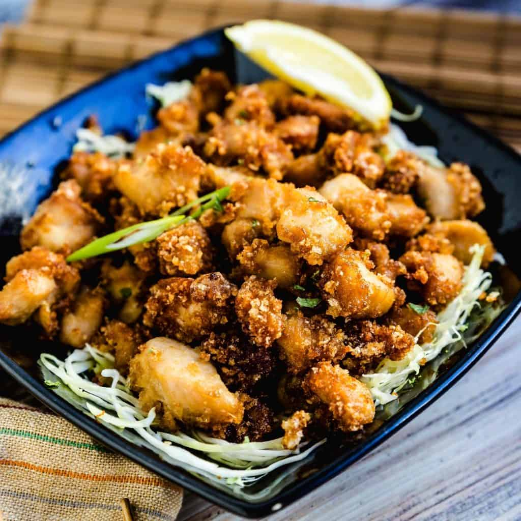 Japanese Fried Chicken Karaage LowCarbingAsian Pic 1