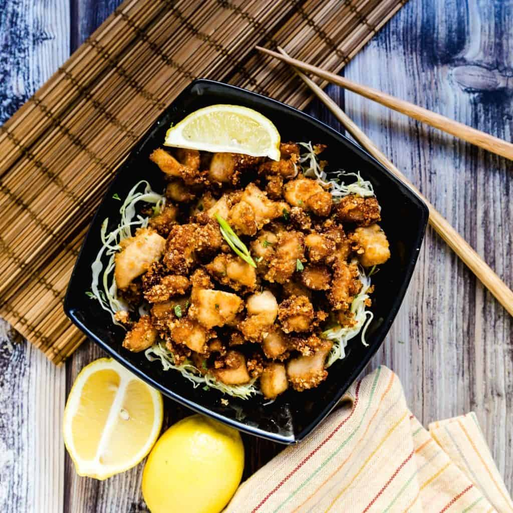 Japanese Fried Chicken Karaage LowCarbingAsian Pic 2