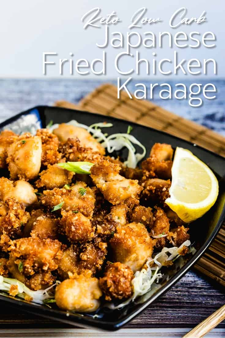 Japanese Fried Chicken Karaage LowCarbingAsian Pin 1