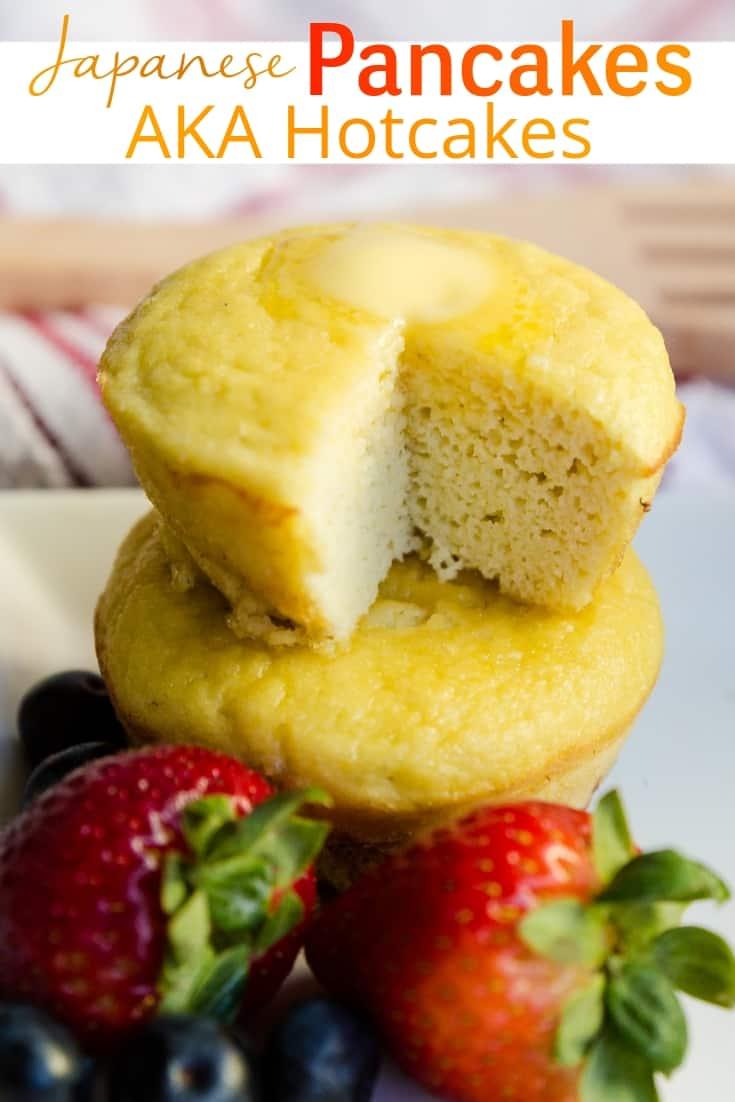 keto Japanese Hotcakes & Pancakes pin 1