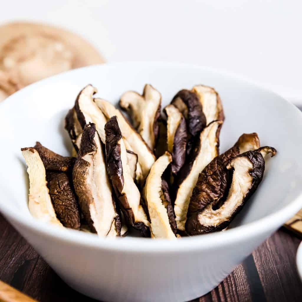 Japanese Shiitake Mushroom in Ginger Ponzu Sauce LowCarbingAsian Pic 1