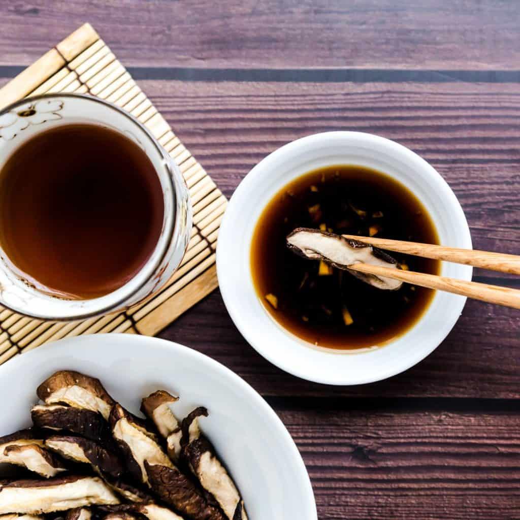 Japanese Shiitake Mushroom in Ginger Ponzu Sauce LowCarbingAsian Pic 2