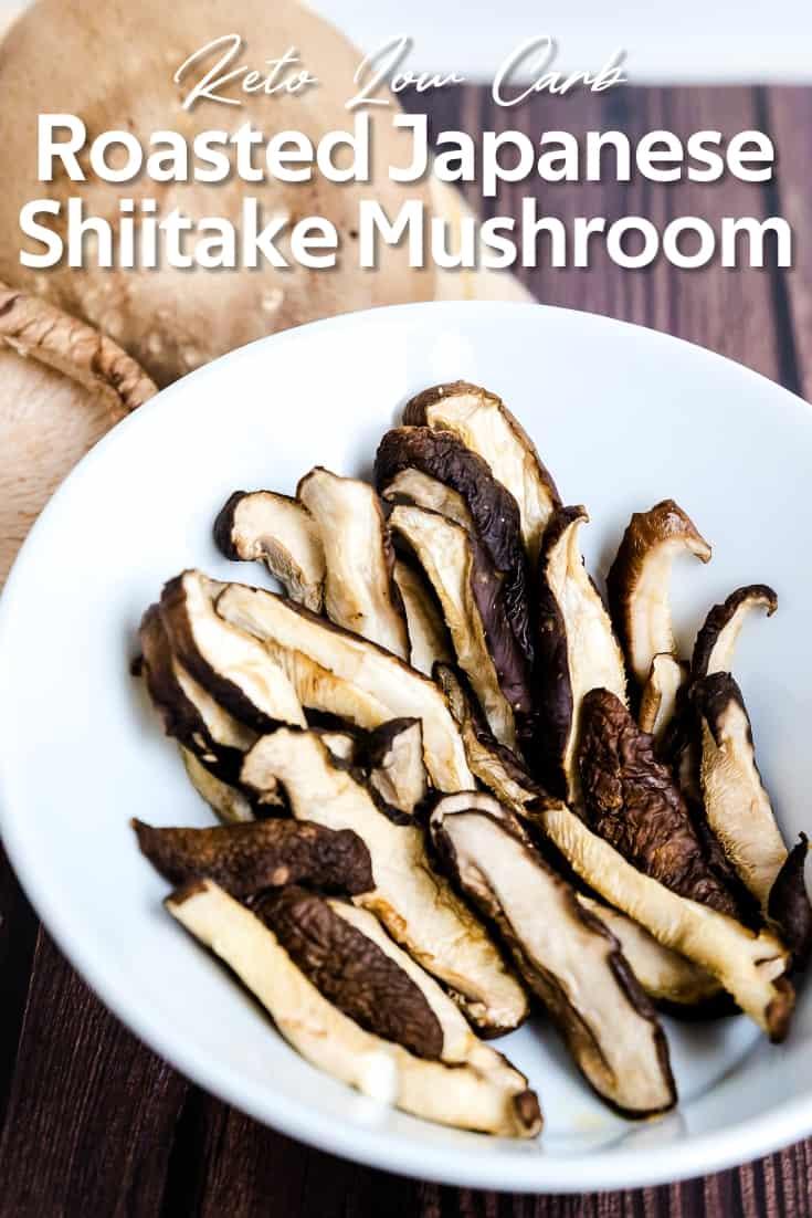 Japanese Shiitake Mushroom in Ginger Ponzu Sauce LowCarbingAsian Pin 2