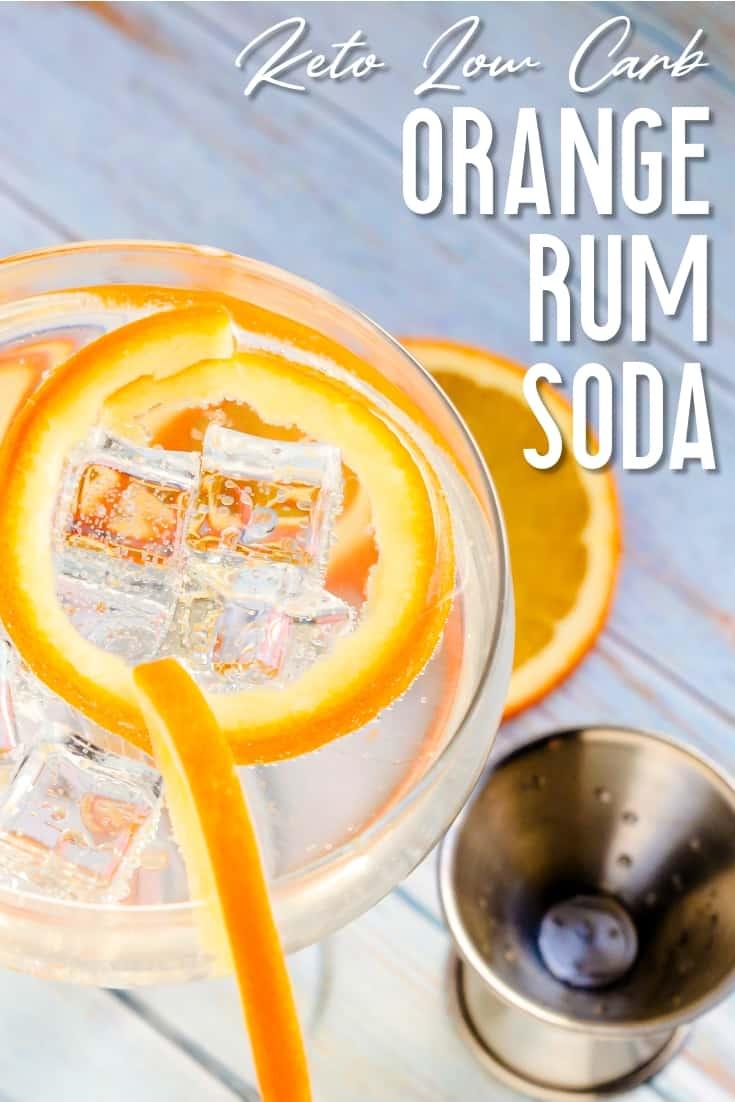 Orange Rum Soda