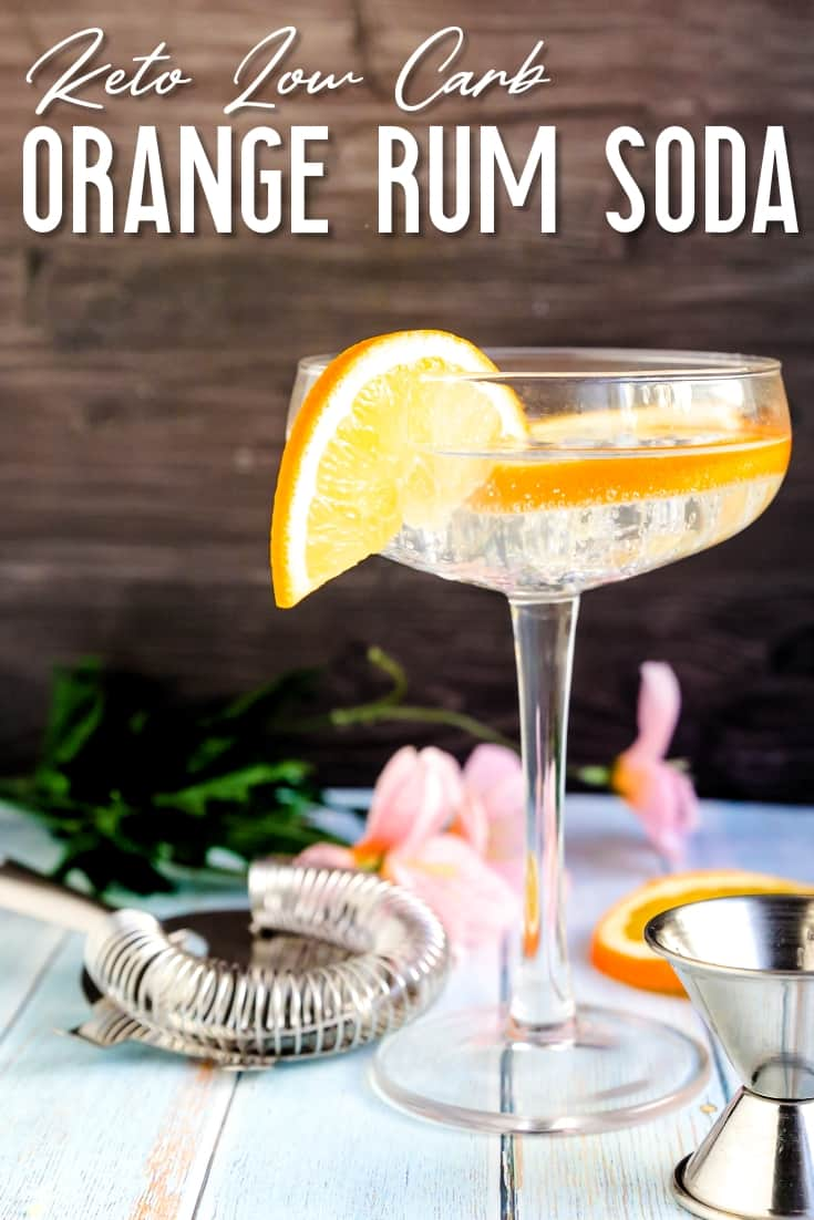 Orange Rum Soda LowCarbingAsian Pin 2