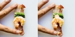 Sriracha Shrimp Bacon Rolls Recipe (32)